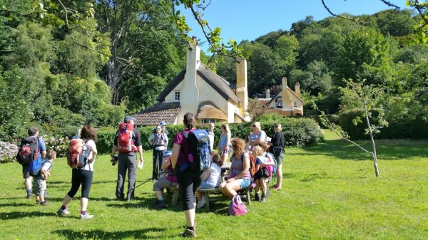 HF Holidays 4 Mile Family Circular Walk From Holnicote House - Selworthy Green
