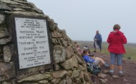 HF Holidays 11 Mile Linear Hard Walk to Dunkery Beacon - Dunkery Beacon