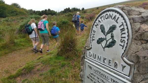 HF Holidays 11 Mile Linear Hard Walk to Dunkery Beacon - Dunkery National Trust