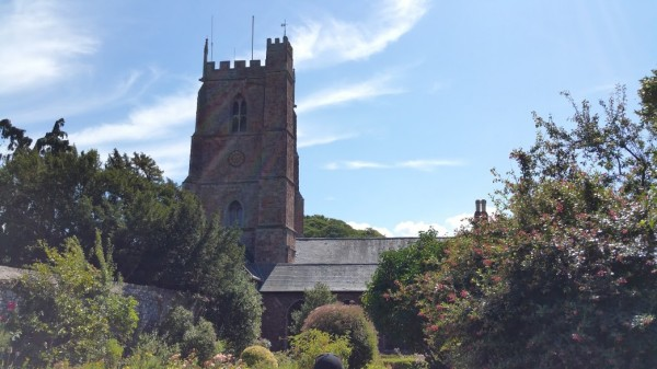 HF Holidays 7 Mile Linear Easy Walk to Dunster - Church