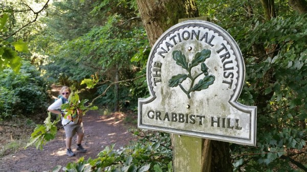 HF Holidays 7 Mile Linear Easy Walk to Dunster - Grabbist Hill