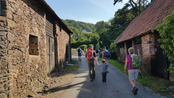 HF Holidays 7 Mile Linear Easy Walk to Dunster - Walking Up To Selworthy Green