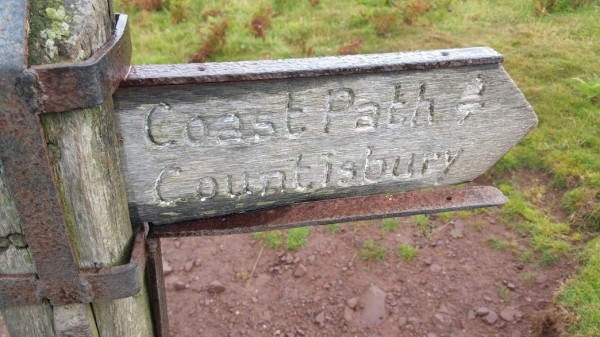 HF Holidays 8 Mile Linear Hard Walk to Lynmouth - South West Coast Path - Countisbury