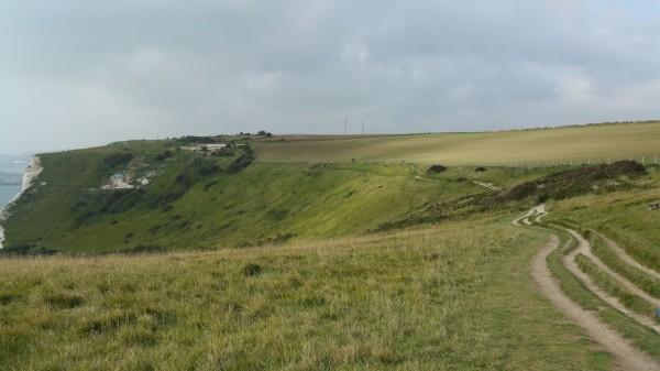 Walks And Walking - White Cliffs Of Dover Walk In Kent - Fan Bay Shelter