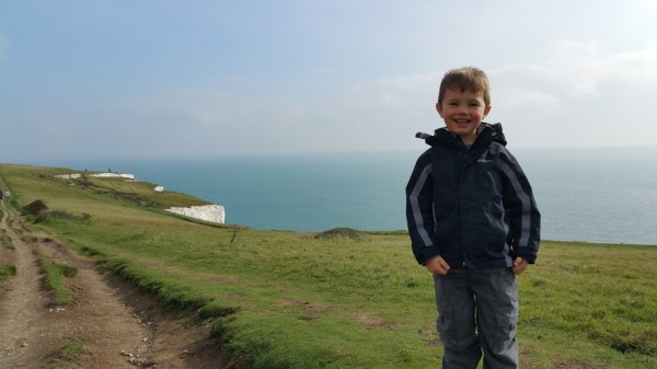 Walks And Walking - White Cliffs Of Dover Walk In Kent - Tedi Age 5