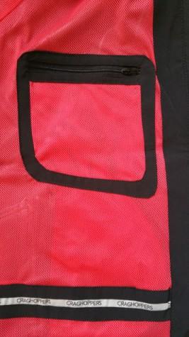 Craghoppers Ladies Olivia Pro Series Shell Waterproof Jacket - Security Pocket