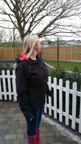 Craghoppers Ladies Olivia Pro Series Shell Waterproof Jacket - Side View