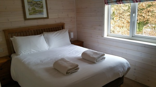 Darwin Forest Country Park - Lodge Bedroom