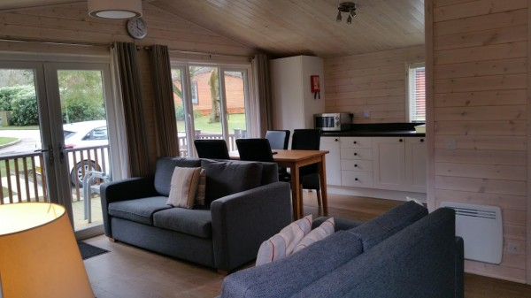 Darwin Forest Country Park - Lodge Living Area