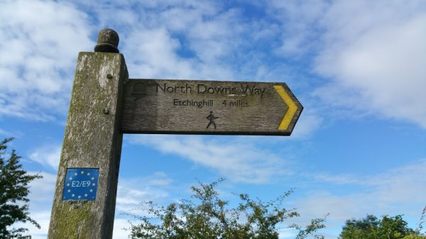 Walks And Walking - Peene Quarry Country Park Walk in Kent - North Downs Way