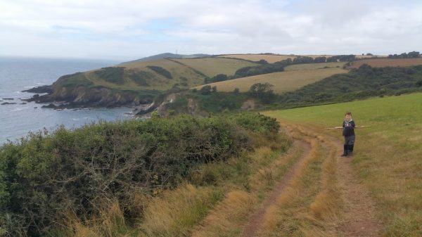 Walks And Walking - Par Sands Walk In Cornwall - South West Coast Path