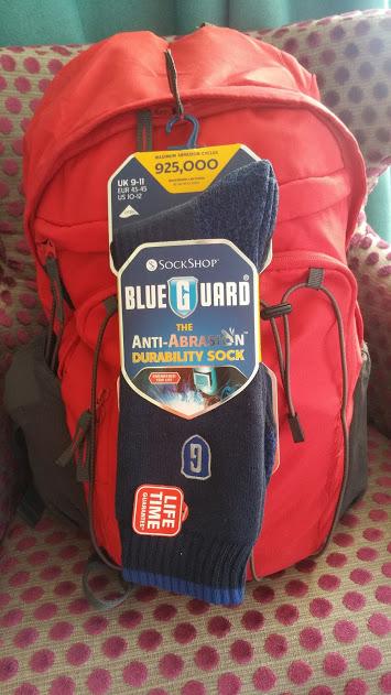 SockShop Blueguard Walking Socks
