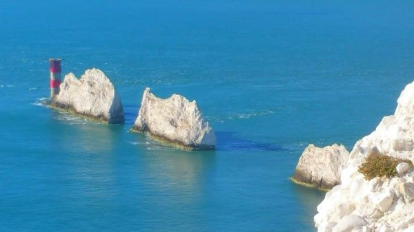 HF Holidays Guided Walk - The Needles Circular Walking Route - The Needles