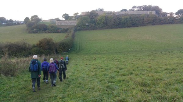 HF Holidays Guided Walk – Carisbrooke Castle Walking Route - Carisbrooke Castle