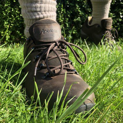 Anatom Q1 Braemar Mens Walking Shoes Brown
